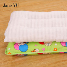 JaneYU PP Cotton babie pillow kids children sleeping pillow health high quality pillows +pillowcase for baby 1pieces ingrace sweet heart tooth fairy pillow for boy and girls baby pillow a rating pp cotton inside 21cm 15cm free ship heart printed