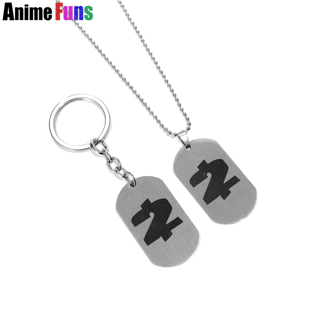 Game PAYDAY 2 Logo Choker Necklace Payday The Heist Stainless Steel Pendant Keyring Keychain for car Charm Souvenir drop-ship