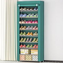 Shoe cabinet 10 layer 9-grid stainless steel fabrics large shoe rack organizer removable shoe storage for home furniture