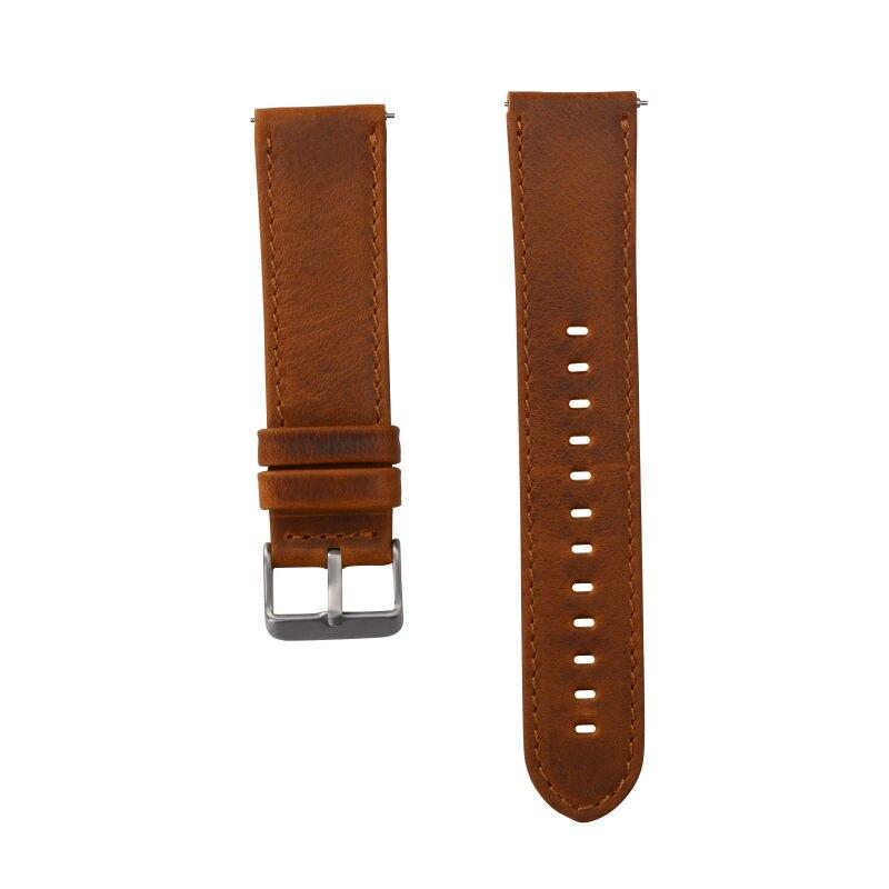 Echtes Lederband für Samsung Gear S3 Smart Watch Band Ersatzuhr - Uhrenzubehör - Foto 3