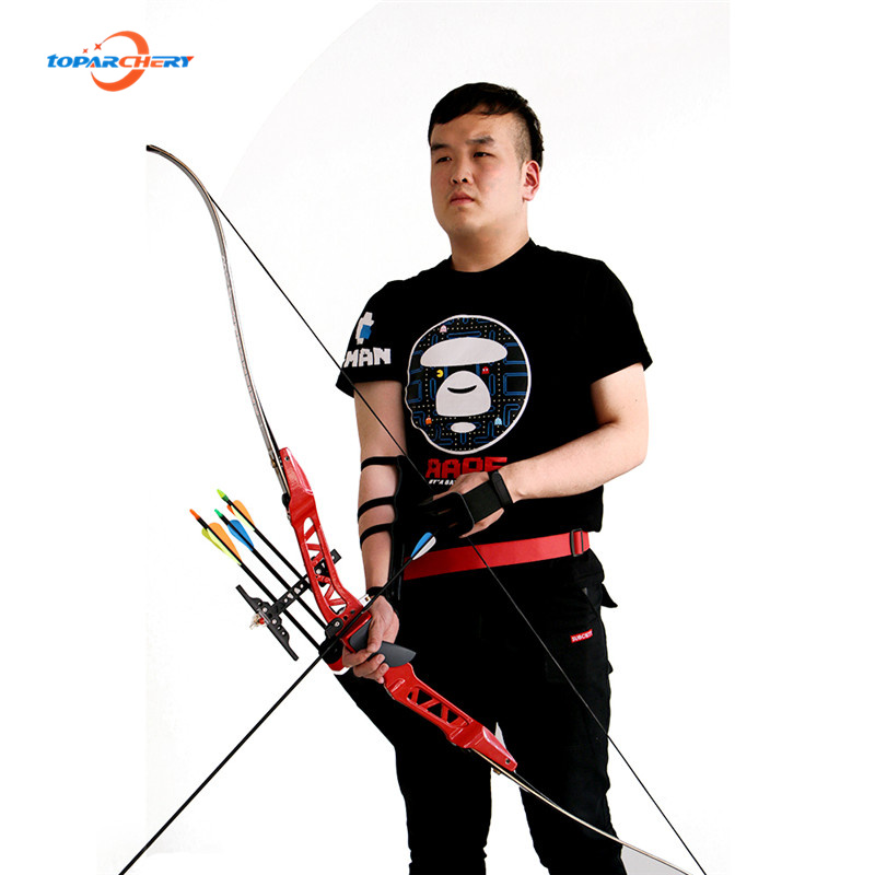 Outdoor Sport 38lbs Archery Recurve Bow Hunting Bow Weapons Riser t Long take down bow hunting Training Practice Free shipping 54 inch recurve bow american hunting bow 30 50 lbs for archery outdoor sport hunting practice