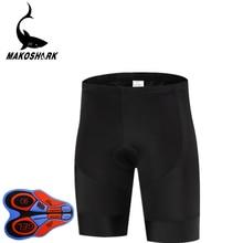 MAKOSHARK Summer 9D Padded Cycling Shorts Shockproof MTB Bicycle Road Bike Ropa Ciclismo BIB Pants for Man Women