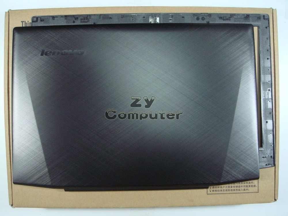 New/Orig Lenovo Y50-70 Lcd Rear Back Cover & front bezel 15.6