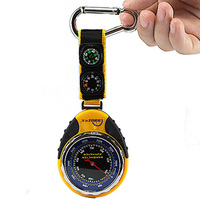 4 In 1 Digital Mini Compass Altimeter Barometer Meter Scale With Compass Thermometer To Measure Direction