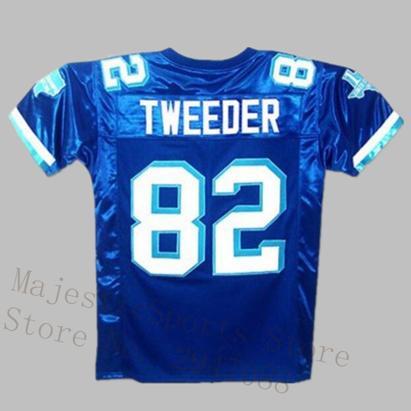Charlie Tweeder West Canaan Coyotes Football Jersey with State Patch Stitch Sewn American Football Jersey M-3XL Free Shipping
