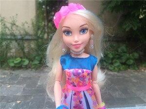 """Image 2 - Disney Nachkommen Neon Leuchten Ball 11 """"/28 cm Verbündeten Auradon Prep Action Figure Spielzeug Puppen Neue Lose"""