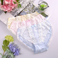 2pcs 2016 New Girls Women Cute Lolita Kawaii Princess Panties Japan Fashion Lace Bow Pearls Underwear Sexy Brief W616