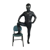 Black Spiderman Halloween Costumes For Men And Kids Boys Christmas Party Stage Performance Clothing