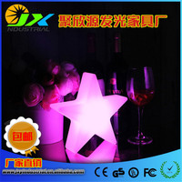 46*46*12cm PE rotational molding LED Star Glow Light Multi Colour ,Five pointed star LED lamp for Christmas & Holiday Decoration