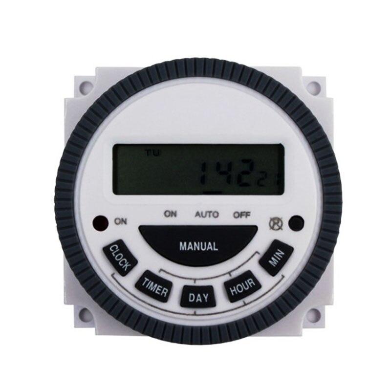 Werkzeuge 1no 1nc Volt Kostenloser Ausgang 16a Zeit Relais Control 220 V 230 V 240 V 7 Tage Programmierbare Digital Timer Schalter Mit Schutzhülle Modische Und Attraktive Pakete