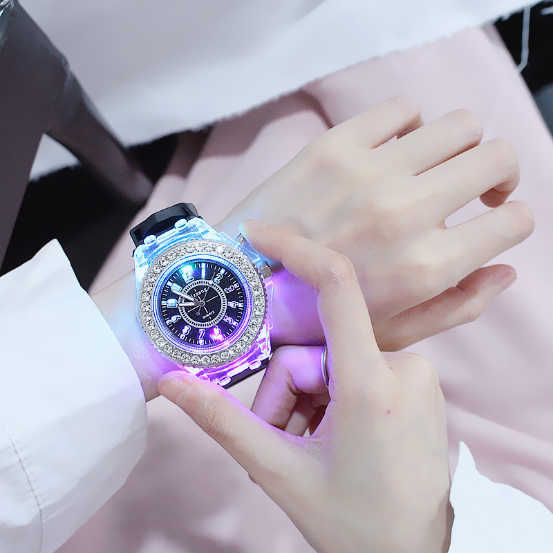 Fashion Lovers Watch  Luminous  The Silicone Students  Multi-function  The Children Watch