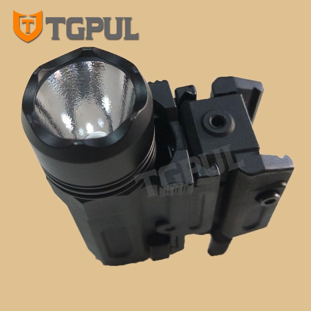TGPUL Red Dot Laser Sight Tactical Airsoft Handgun Flashlight Combo LED Tactical Gun Torch for 20mm Rail Glock 17 19 18C 24 P226-2
