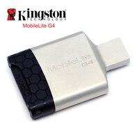 킹스톤 카드 리더 USB 3.0 다기능 usb 금속 미니 SD sdhc/SDXC UHS-I 메모리 카드 컴퓨터 USB 어댑