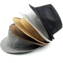 Модные Мужские Женщины Мужская Летние Шляпы 5 Цвета Твердые Соломы Hat для Женщин Пляж Шляпы Повседневная Панама Вс Шляпы Джаз Cap