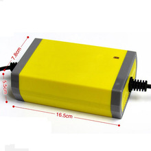 Wholesale! 12V 20A Smart Sealed Lead Acid Rechargeable Battery Charger UPS Motorcycle/Car Easy Charging High Quality 20PCS/Lot