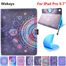 Wekays For Apple IPad Pro 9.7 inch Stand Smart Leather Flip Fundas Case For Coque IPad Pro 9.7