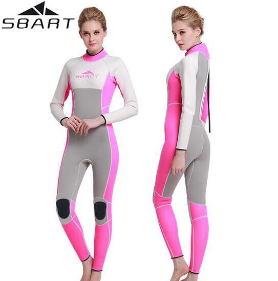 SBART 3MM Neoprene Men Women's Surfing Wetsuits Swimming Spearfishing Wetsuit Diving Suit Maillot De Bain Femme sbart upf50 806 xuancai