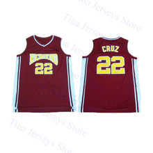 2b041874ac4 Horlohawk Mens Timo Cruz 22 Richmond Oilers Home Basketball Jersey Color Red  Stitched