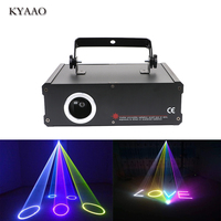 stage laser light SD card 500mW rgb beam light holigday LED light DJ disco laser projector