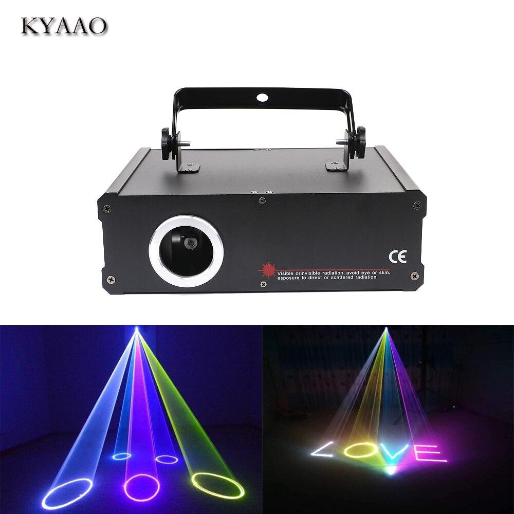 Stade lumière laser SD carte 500 mw rgb faisceau lumière holigday LED lumière DJ disco laser projecteur