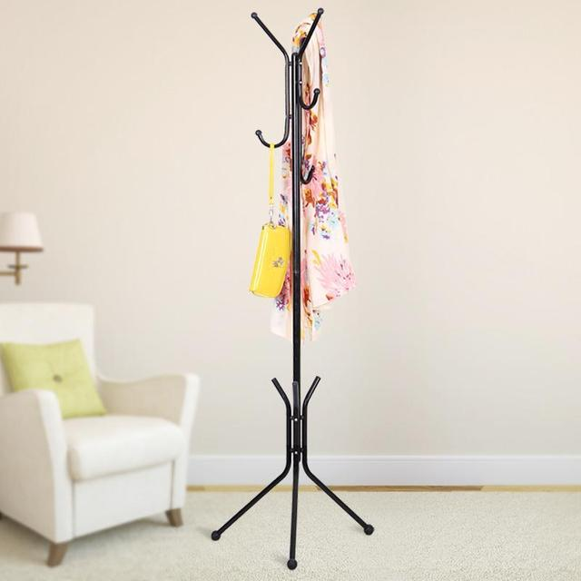 Creative Fashion Wrought Iron Coat Rack Hanger For Hanging Clothes Metal Stand