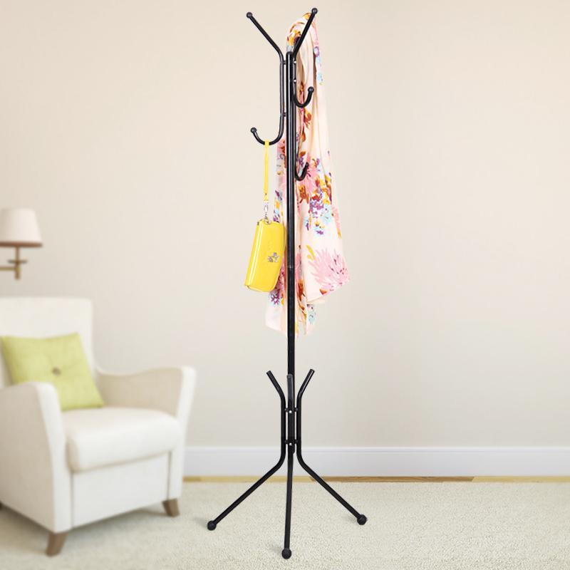 Creative Fashion Wrought Iron Coat Rack Coat Hanger for Hanging Clothes, Metal Clothes Stand Rack For C