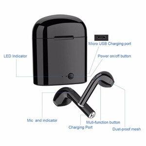 Image 4 - I7 Tws draadloze headset Bluetooth oortelefoon twin hoofdtelefoon Bluetooth headset met opladen doos voor alle smartphones
