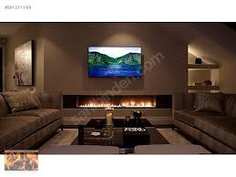 48 Inch Silver Or Black Wifi Real Fire Flame Intelligent Smart Bio Ethanol Fire Box Inserts