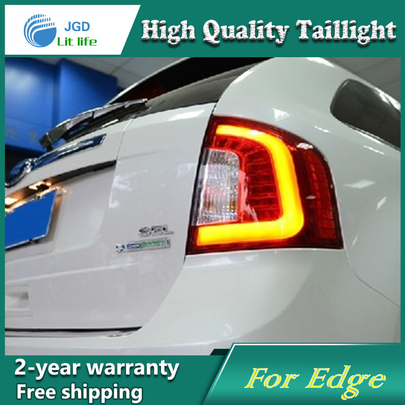 Car Styling Tail Lamp for Ford Edge 2009-2013 Tail Lights LED Tail Light Rear Lamp LED DRL+Brake+Park+Signal Stop Lamp akd car styling for hyundai santa fe led tail lights 2007 2013 new santa tail light rear lamp drl brake park signal