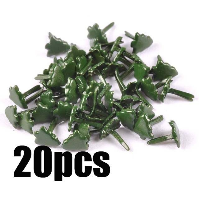 Смешанный узор Круглые Diy штифтики для скрапбукинга, украшение на застежке Брэд металлические изделия для украшения 28 Дизайн выбор cp2241 - Цвет: 7x8mm 20pcs