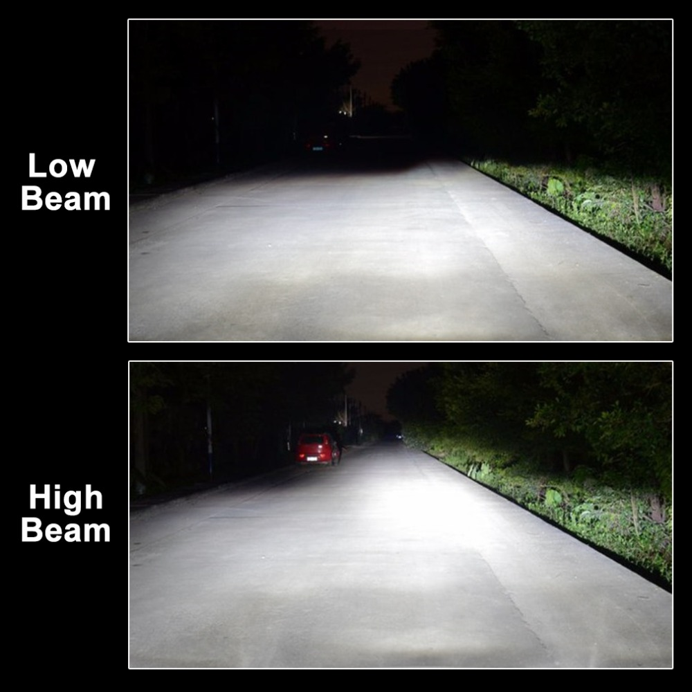 Image 5 - 2Pcs H1 H3 H4 H7 Led Canbus H8 H11 HB3 9005 HB4 9006 Led Headlights Mini 100W 10000LM Car Light Bulbs Automobiles Auto Lamp-in Car Headlight Bulbs(LED) from Automobiles & Motorcycles