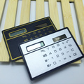 Fashion Special Hot and Convinient High Quality Mini 8 Digits Slim Credit Card Solar Power Pocket Calculator