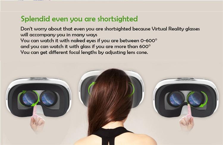FIIT VR 3D Virtual Reality Video Helmet Cardboard 2.0 VR Glasses Box for 4.0-6.5 inch Smartphone Lightweight Ergonomic Design (14)