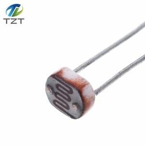 Image 4 - 1000 Uds LDR Resistor fotosensible fotoeléctrico fotorresistencia 5528 GL5528 5537, 5506, 5516, 5539, 5549 para Arduino