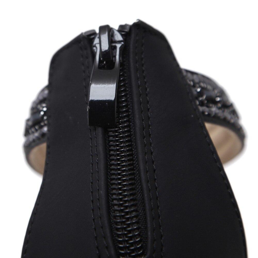 Flops Bajo Tamaño White Tobillo Mujeres Zapatos Siketu Sandalias Playa Tanga black Verano Tacón Wrap Más Étnica Cuña Flip Comfort Bohemia TUwE74xw
