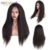 150% плотность 360 Синтетические волосы на кружеве al парик странный прямые волосы парик с ребенком волос бразильского Синтетические волосы на