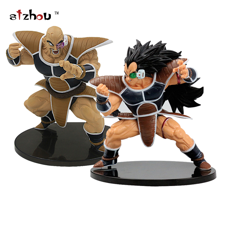 2017New Height Raditz Super Saiyan Budokai 5 Five PVC Action Figure Anime Dragon Ball Z Figurine