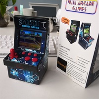 Mini Arcade Game Retro Machines for Kids with 200 Classic Handheld Video Games Portable Gaming System for Childrens Tiny Toys 3