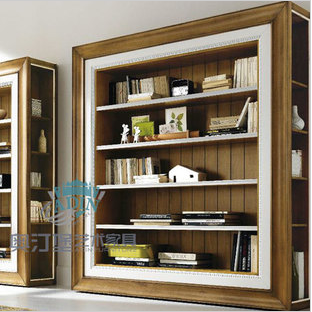 Art furniture arthur series english-style new classic bookcase combination bookcase a3508a xh
