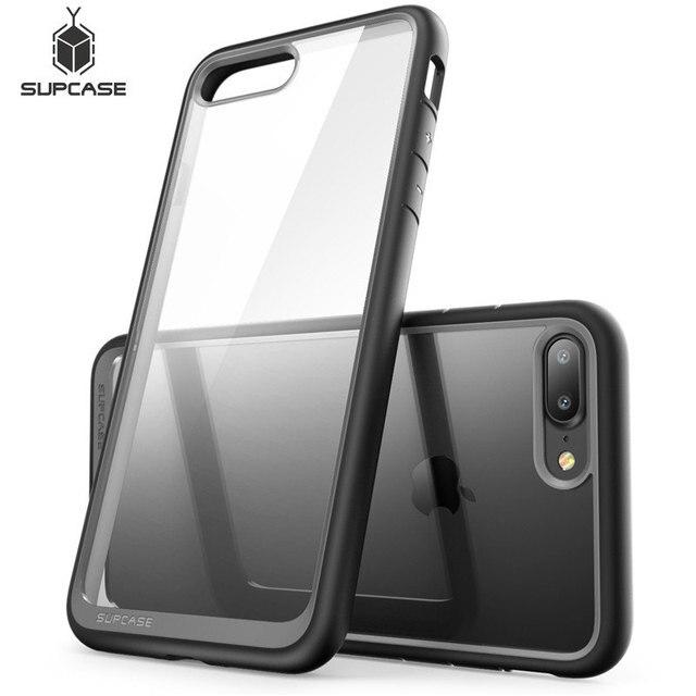 SUPCASE pour iphone 8 Plus étui UB Style Premium hybride protection pare chocs étui transparent pour iphone 8 Plus (sortie 2017)