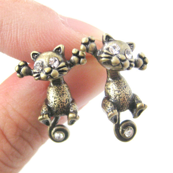 Unique Cute Cat Earrings