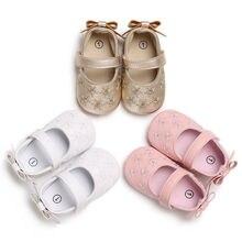 2020 Brand New Newborn Infant Baby Girl Princess Non-Slip Bow Flower Ba