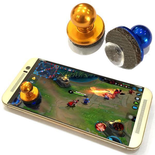 New Mini RED Game Joystick Mobile Phone Physical Joysticks Fling Touch Screen Rocker For iPhone/Pads/HCT/Samsung Smart Phones