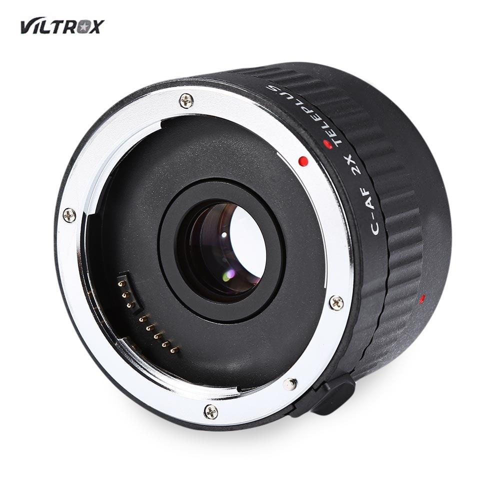 Original Lens Adapter Viltrox C AF 2X Magnification Teleplus Teleconverter Lens for Canon EF Mount Lens super usb3 0 af af adapter converter