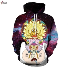 Autumn Winter Brand Men/Women 3d Sweatshirts Print Cute Little Elephant Unisex Hooded Hoodies Casual Thin Tops Pullovers 3XL