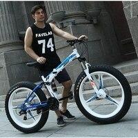 Alta calidad 26''x4. 0 Bicicleta Plegable, 7/21 velocidad, bicicleta de carretera, bicicleta grasa, bicicleta de velocidad variable, para una variedad de condiciones de la carretera
