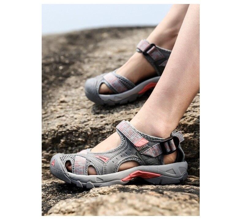 respirável verão aqua sapatos de malha de