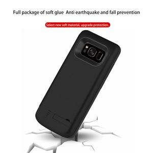 Image 3 - 5000/6500MAhสำหรับSamsung Galaxy S8 แบบพกพาชาร์จPower Bankสำหรับsamsung S8 Plus