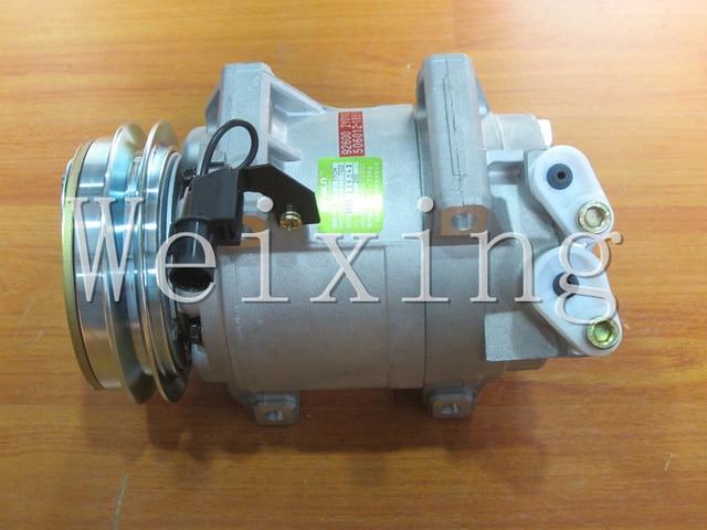 Automotive AC compressor DKS15D and Clutch For Mitsubishi Pickup Triton L200 MN123626 7813A105