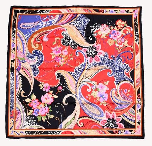 ELEGANT HANDMADE BRAND 100%Twill Silk Scarf TWIC-69575